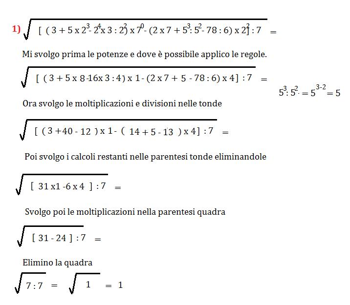 Espressione con frazioni sotto radice quadrata