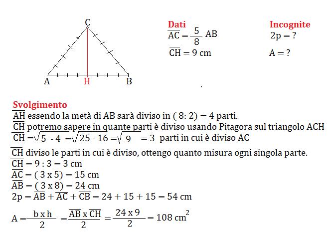 pitagora al triangolo isoscele 2 png