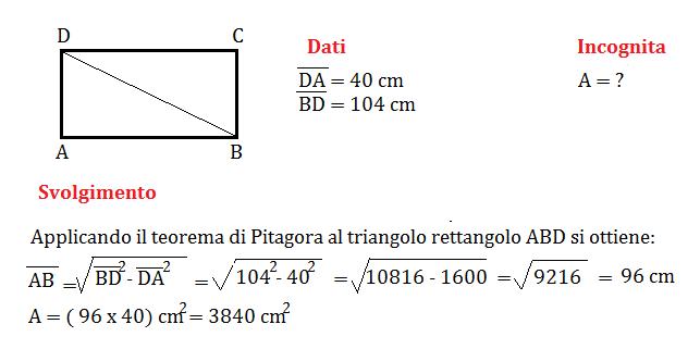 pitagora e rettangolo 1