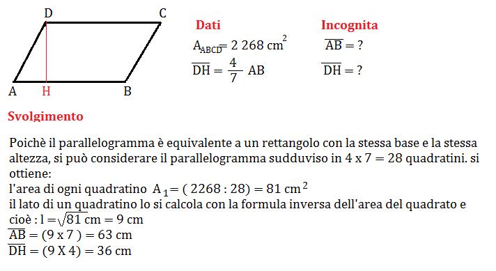 problema parallelogramma 2