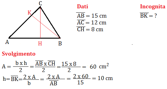 problema sul triangolo 1