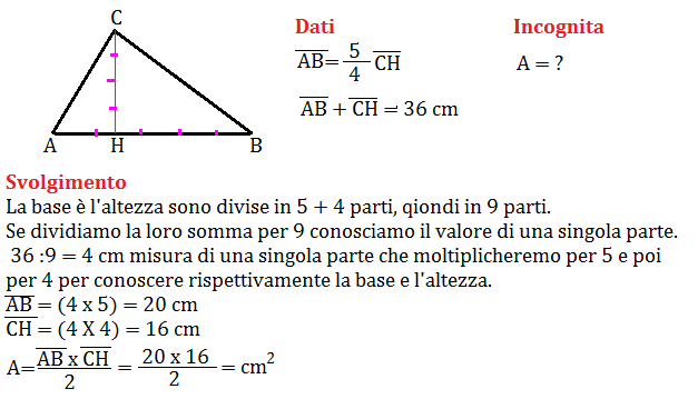 problema sul triangolo 5