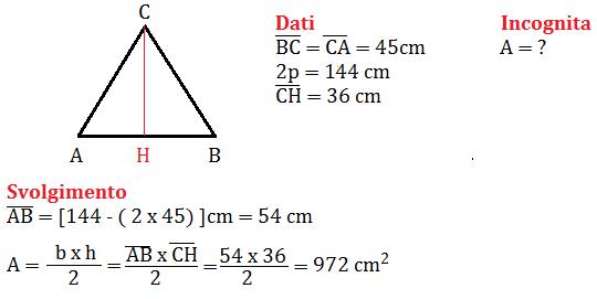 problema sul triangolo