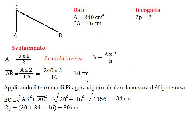 problemi con pitagora 1