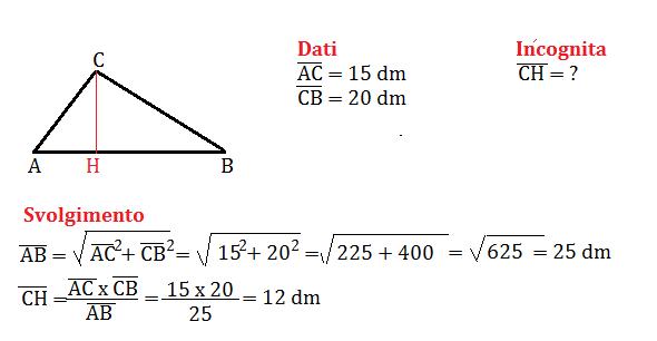 problemi con pitagora 7