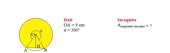 area segmento circolare 1