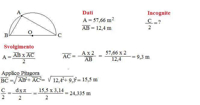 problema lunghezza circonferenza 13