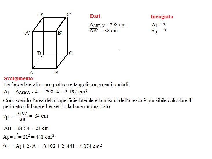 Problema sulla superficie dei prismi 13