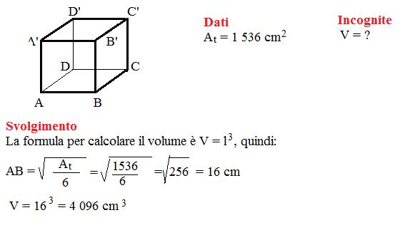 problema volume cubo