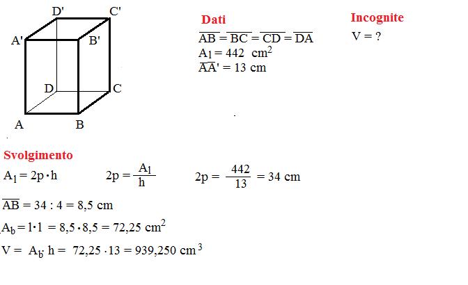 problema volume prisma 4