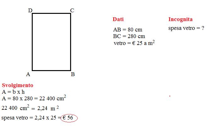 area rettangolo  1