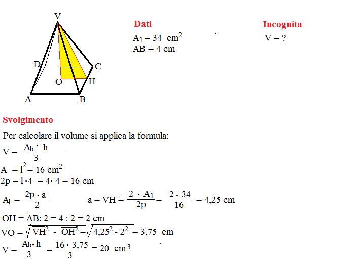 problema volume piramide 3