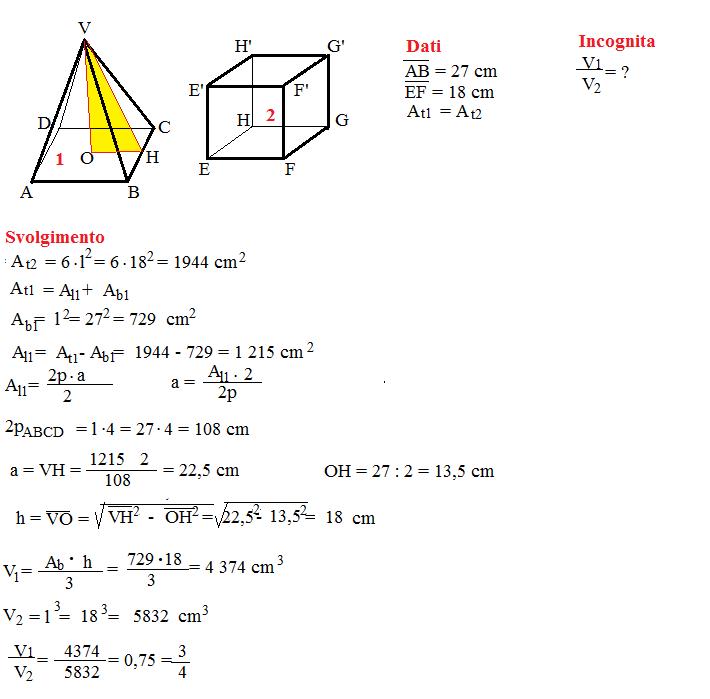 problema volume piramide 5