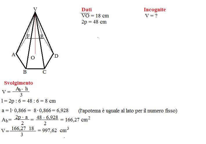 problema volume piramide 6